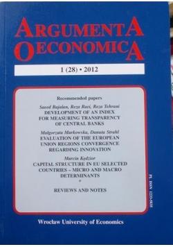 Argumenta oeconomica 1 (28)