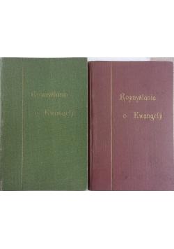 Rozmyślania o Ewangelji, tom I-II,  1931 r.