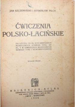 Ćwiczenia Polsko-Łacinskie, 1926 r.