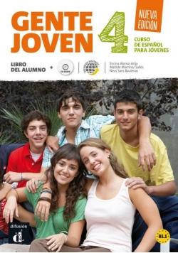 Gente Joven 4 Nueva Edicion podr + CD LEKTORKLETT