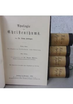 Apologie des Christentums Tom I-V, ok. 1900 r.