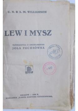 Lew i mysz, 1928 r.