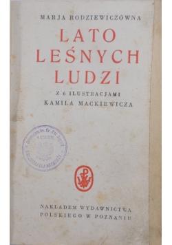 Lato leśnych ludzi, 1927r.