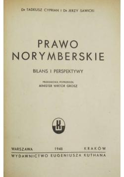 Prawo norymberskie. Bilans i perspektywy - 1948 r.