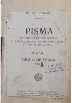 Pisma , 1921 r.