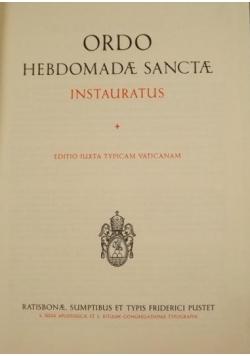Ordo Hebdomadae Sanctae
