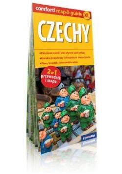 Comfort!map&guide XL Czechy 2w1 plan miasta