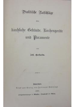 Praktilche Katchage, 1895 r.