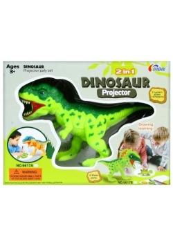 Projektor Dino z akcesoriami 2w1
