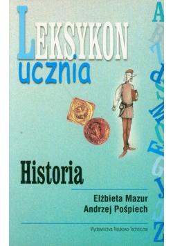 Leksykon ucznia Historia