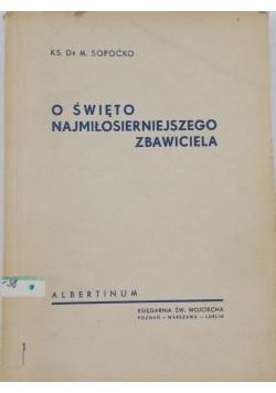 O święto najmiłosierniejszego zbawiciela, 1947r.