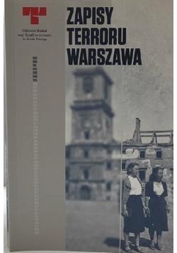Zapisy terroru Warszawa