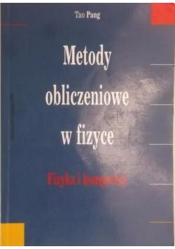 Metody obliczeniowe w fizyce