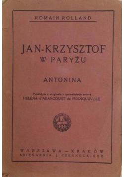 Jan-Krzysztof w Paryżu, 1923r