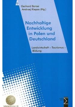 Nachhaltige Entwicklung in Polen und Deutschland