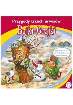 Bajki - Grajki. Przygody trzech urwisów CD