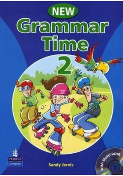 Grammar Time 2 NEW SB plus Multirom PEARSON + CD, nowa