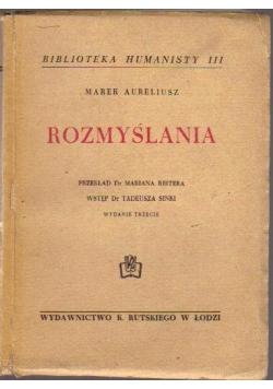 Rozmyślania, 1948 r.