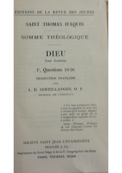 Dieu, 1926 r.