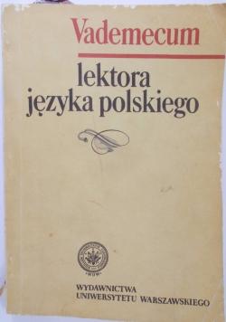 Vademecum lektora języka polskiego