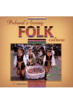 Albumik Polski folklor żywy wersja angielska