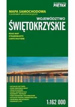 Województwo Świętokrzyskie 1:162 000 mapa samoch.