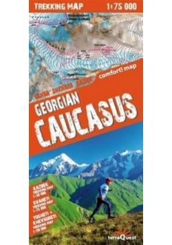 Trekking map Gruzja Kaukaz 1:75 000 mapa