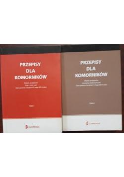Przepisy dla komorników, tom I i II, 2014
