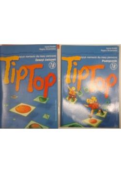 Tip Top.1B. Język niemiecki dla klasy pierwszej, 2 książki