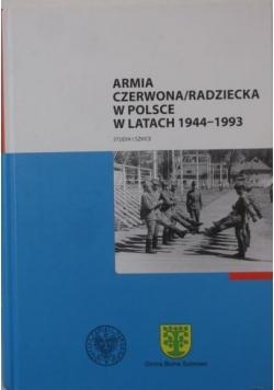 Armia czerwona/radziecka w Polsce w latach 1944-1993