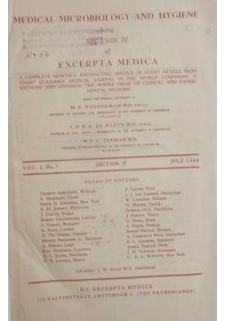 Excerpta medica, Tom IV, 1948r.