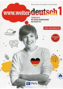 www.weiter deutsch 1 Podręcznik 7 Kurs kontynuacyjny + CD