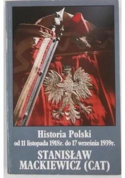 Historia Polski od 11 listopada 1918 r. do 17 września 1939 r.