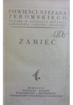 Zamieć, 1928 r.