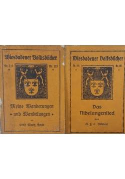 Wiesbadener Volfsbucher  , 1950 r. - Zestaw 2 książek -101 , 109