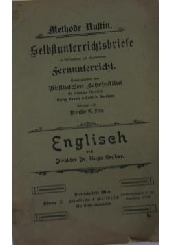 Selbstunterrichtsbriefe. Englisch