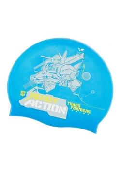 Czepek kąpielowy Transformers niebieski