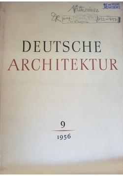 Deutsche Architektur tom 9