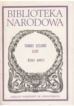 Biblioteka Narodowa. Wybór poezji