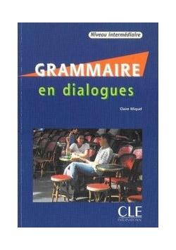 Grammaire en dialogues niveau intermediare książka + CD audio