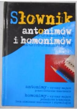 Słownik antonimów i homonimów