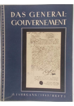 Das Generalgouvernement III, 1943 r.