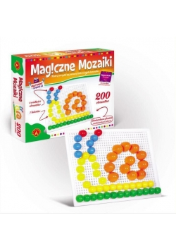 Magiczne mozaiki - Kreatywność i edukacja 200 ALEX