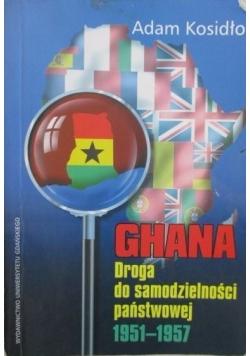 Ghana droga do samodzielności państwowej 1951-1957