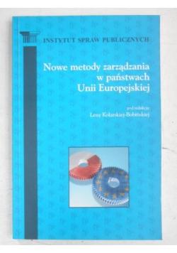 Nowe metody zarządzania w państwach Unii Europejskiej