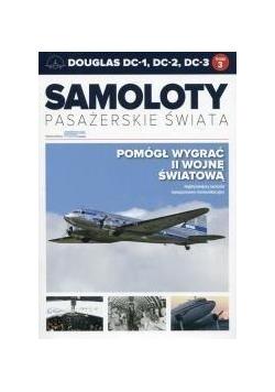 Samoloty pasażerskie świata T.3 Douglas DC-1...