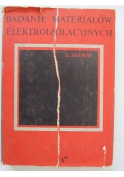 Badanie materiałów elektroizolacyjnych