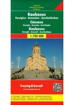 Kaukaz mapa drogowa 1:700 000
