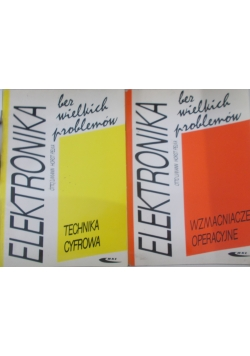 Elektronika, zestaw 2 książek