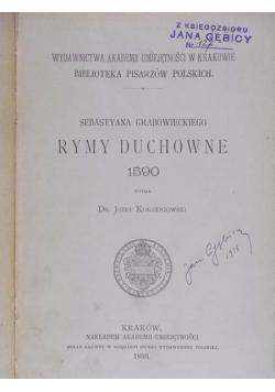 Rymy duchowne, 1893 r.